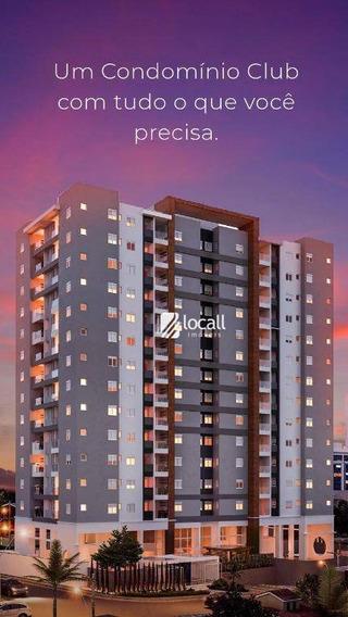 Apartamento Com 2 Dormitórios À Venda, 63 M² Por R$ 330.000 - Higienópolis - São José Do Rio Preto/sp - Ap1981