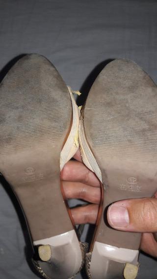 Sandália De Salto Mariotta - No Estado (leia)