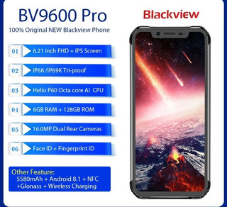 Blackview Bv9600 Pro 6gb+128gb Rom 6.21 PuLG Octcore Andr8.1