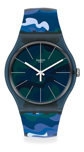Reloj Swatch Camouclouds Suon140