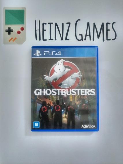Ghostbusters Ps4 Mídia Física (caça Fantasmas)