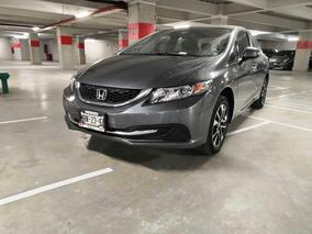Honda Civic 4p Ex Sedan Aut.
