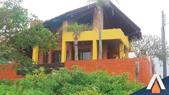 Acrc Imóveis - Casa À Venda Em Balneário Piçarras, Com Vista Para O Mar, 04 Dormitórios Sendo 01 Suíte E 05 Vagas De Garagem - Ca00935 - 33766865