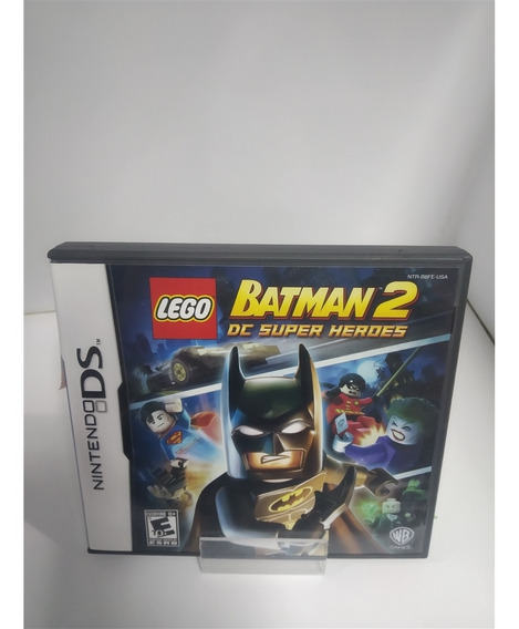 Lego Batman 2 Dc Super Heroes (seminovo) - Nds
