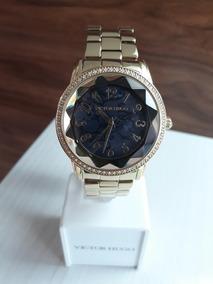 Relógio Victor Hugo Vh10075 + Garantia De 1 Ano + Nf
