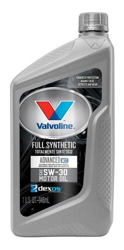Aceite 5w30 Sintetico 0.946 Litros Valvoline