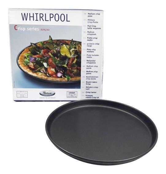 Plato Fuente Doradora Teflon Microondas Whirlpool 31 Cm Cts