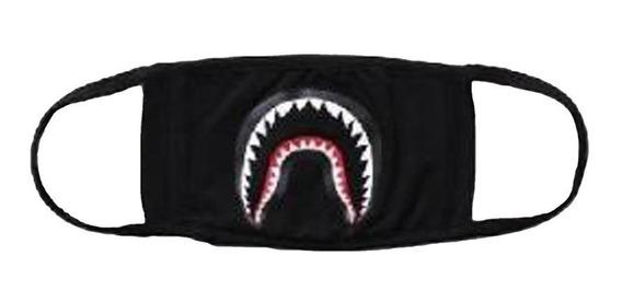 Shark-black - Camping Primeros Auxilios Kits Bape Cara -9694