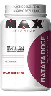 Super Lançamento Batata Doce Em Pó Max Titanium