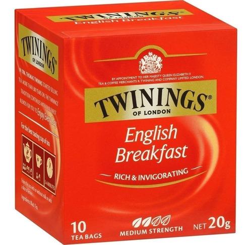 Te Twinings English Breakfast 10 Saq Polonia Envió!