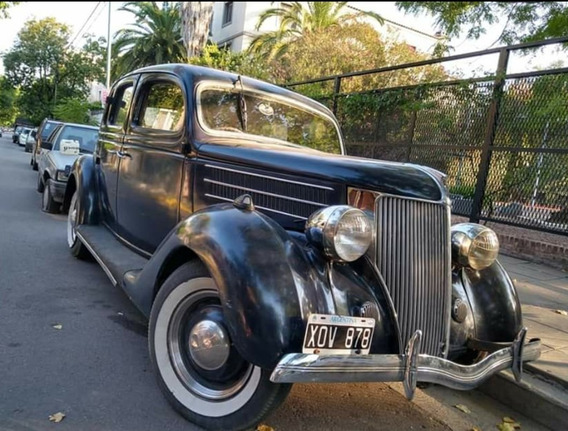 Ford 1936 V8 Original 100 Por Ciento