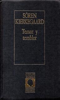 Libro: Temor Y Temblor / Soren Kierkegaard