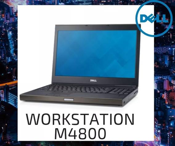 Notebook Dell Core I7 4° Ger +ram 8gb+hd500 Precision M4800