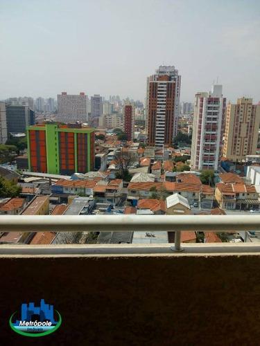 Apartamento Com 2 Dormitórios À Venda, 55 M² Por R$ 500.000 - Tatuapé - São Paulo/sp - Ap1349