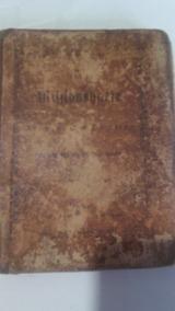 Livro Antigo De Música Alemã