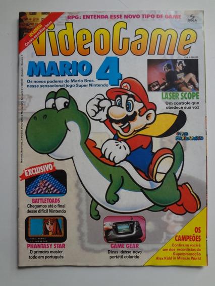 Revista Videogame Nº 7 Mario 4