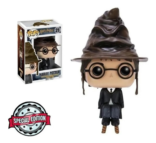 Imagem 1 de 3 de Funko Pop! Harry Potter 21 Special Edition Seletor Hat