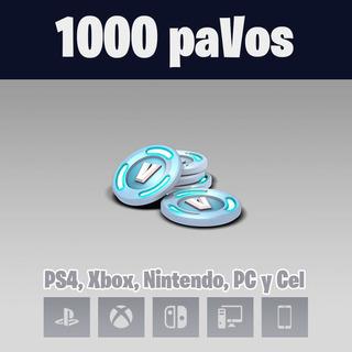 Fornite 1000 Pavos - Cualquier Pais