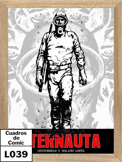 Eternauta Cuadro Poster Cartel Comic L039