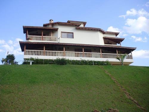 Maravilhosa Chácara  7 Dorm. À Venda, 2775 M² Por R$ 1.250.000 - Condomínio Restinga Verde- São Roque/sp - Ch0026