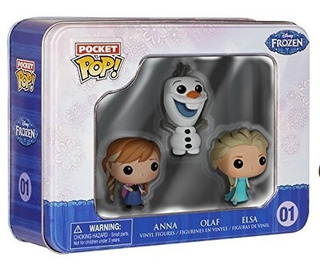 Funko Frozen Pocket Pop! Mini Vinilo Figure Tin Presentando
