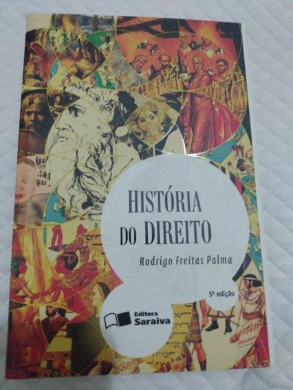 Livro História Do Direito - 5ª Edição