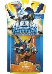 Boneco Skylanders Spyros Adventure Drobot Para Pc Mac Ps3...