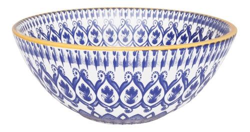 Bowls Compotera Cerámica Decorado La Carreta