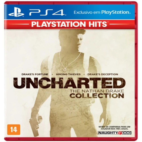 Jogo Uncharted: The Nathan Drake Collection Hits - Ps4
