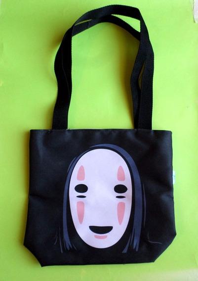 Mini Tote Bag Cartera De Anime El Viaje De Chihiro Kaonashi