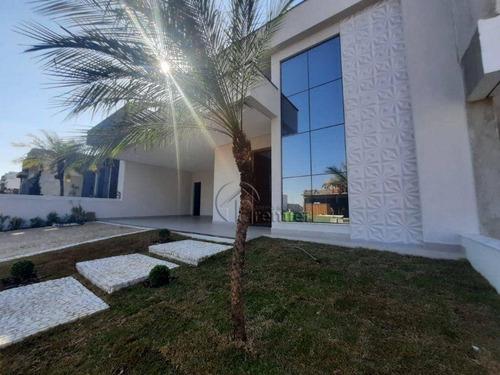 Imagem 1 de 30 de Casa Com 3 Suítes À Venda, 190 M² Por R$ 1.400.000 - Jardim Residencial Dona Maria José - Indaiatuba/sp - Ca2302