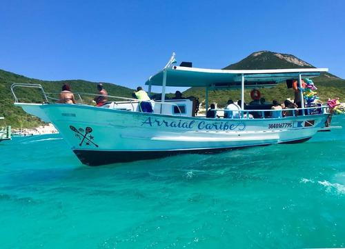 Imagem 1 de 11 de Vendo Barco De 10mts Barco De Madeira
