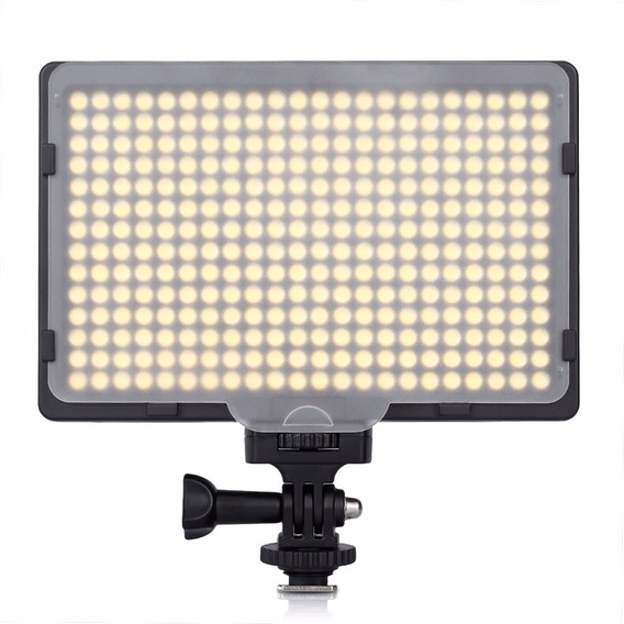 Lampara Video 308 Led Craphy Control Dimer 2 Filtros