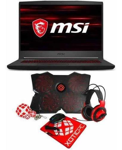 Msi Gf65 15.6  Gaming Laptop I7-10750h 8gb Ram 512gb