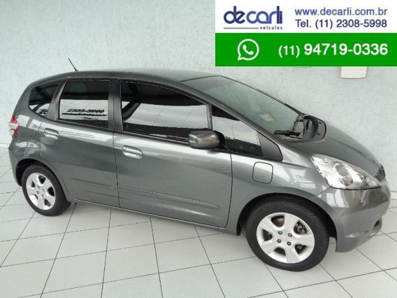 Honda Fit 1.4 Lx (flex) Cinza - 2011/2012