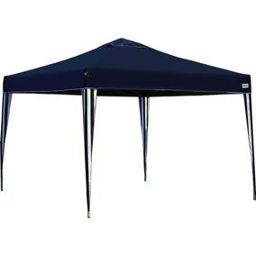 Tenda Gazebo Dobrável Sanfonada 3 X 3 M Azul Marinho Mor