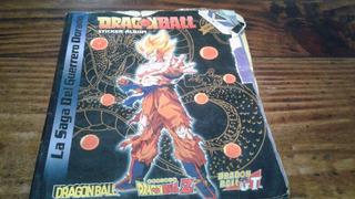 Album De Figuritas Dragonball Guerrero Dorado Solo Para Figu