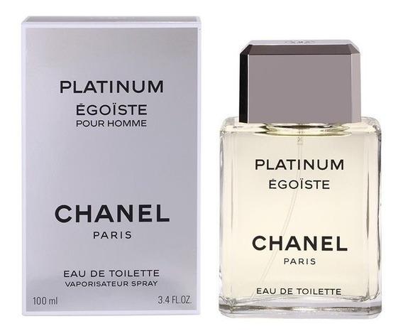 Perfume Masculino Platinum Egoiste 100ml - 100% Original