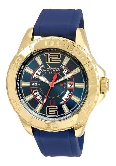 Relógio Condor Civic Co2315bd Masculino Dourado Garantia