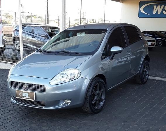 Fiat Punto Elx 1.4 Cinza 2008