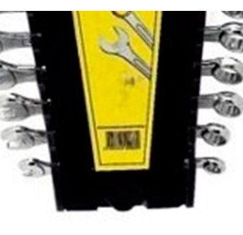 Jogo De Chaves Combinadas De 6 A 19mm Com 11 Peças Eda-8tn