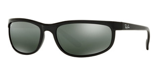 Lentes De Sol Ray-ban Predator 2 Polarized - Gris 62mm