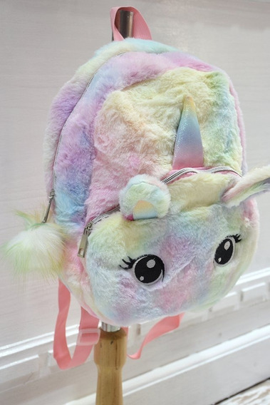 Mochila Plush Fashion Unicornio Original Importada.