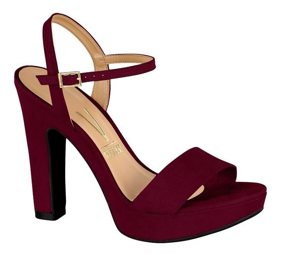 Sandalia Con Plataforma * Vizzano * Vino Nueva Coleccion