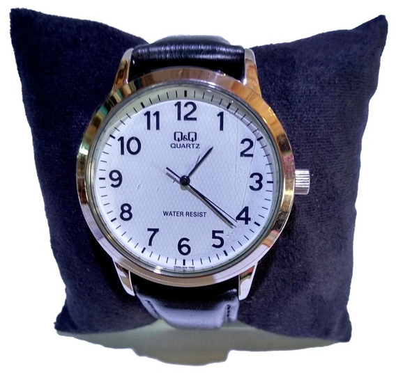 Relógio Q&q Prata Fundo Branco - Q946j304y
