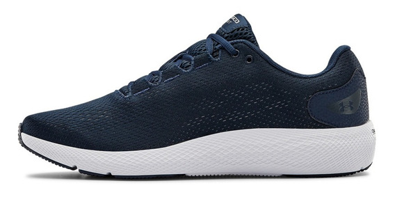 Tenis Under Armour Hombre Azul Ua Charged Pursuit 2