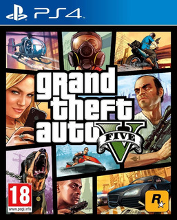 Gta Grand Theft Auto 5 Play Station Ps4 Nuevo + Envío Gratis