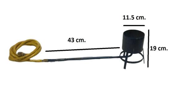 Quemador Bote Chicharrones Para Cazo Paila De Gas Manguera