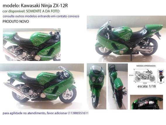 Miniatura Kawasaki Ninja Zx-12r Gam0408