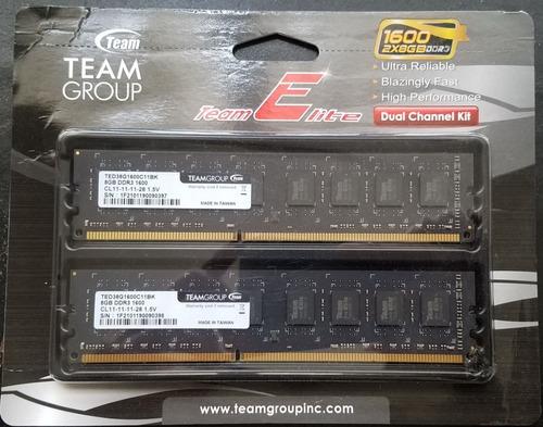 Imagen 1 de 2 de Memoria Ram Nueva Ddr3 - 2 X 8 Gb